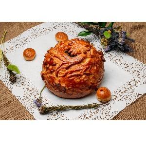 "Пирог слоенно-дрожжевой ""Курник"" 0,5 гр."