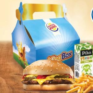 Детское Комбо с чизбургером