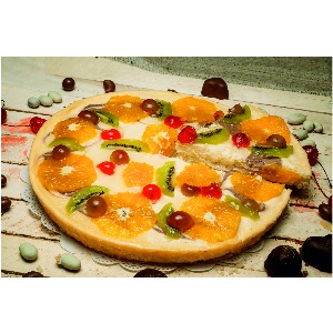 Пирог «Чизкейк с фруктами»