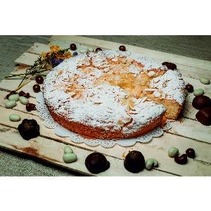 Пирог «Миндально - яблочный»
