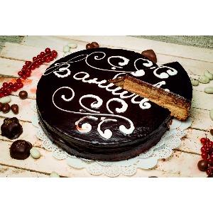Пирог «Зебра шоколадная»